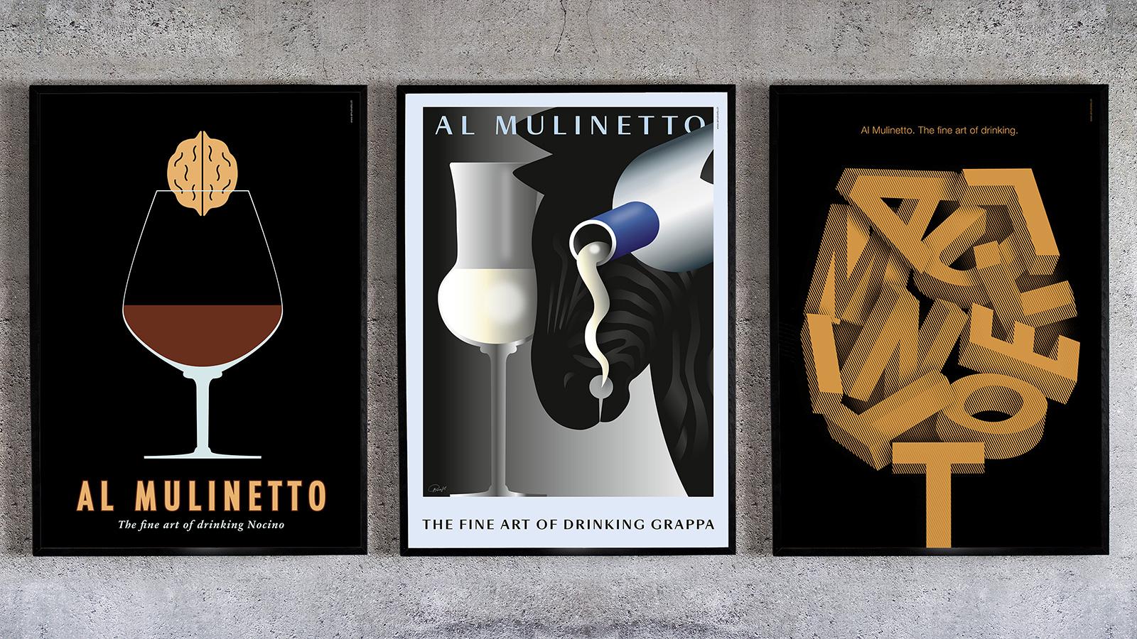 Al Mulinetto Plakate